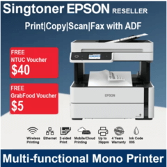 EPSON EcoTank Monochrome M3170 Wi-Fi All-in-One Ink Tank Printer