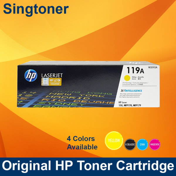 HP 119A Magenta Original Laser Toner Cartridge
