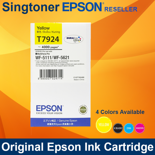 EPSON T792 YELLOW INK