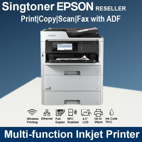 Epson WorkForce Pro WF-C579R Duplex All-in-One Inkjet Printer