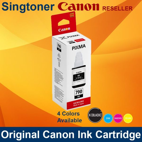 CANON GI-790 BLACK INK CARTRIDGES