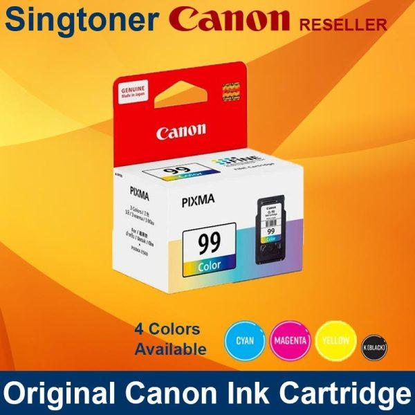 CANON CL-99 COLOR INK CARTRIDGES CL99
