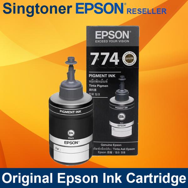 EPSON T774 BLACK INK BOTTLE