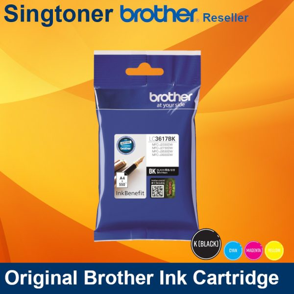 BROTHER LC3617 BLACK INK
