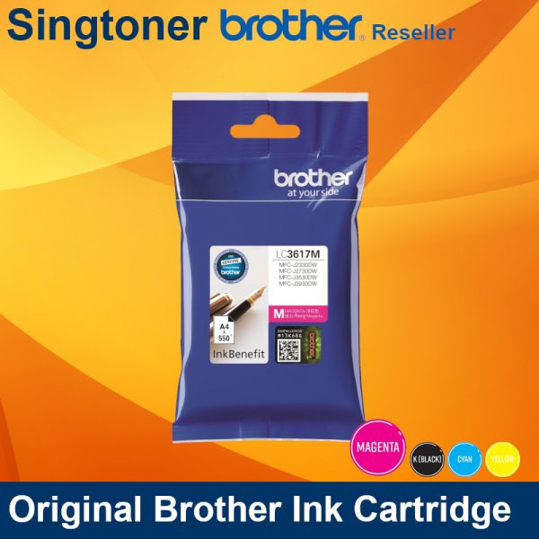 BROTHER LC3617 MAGENTA INK