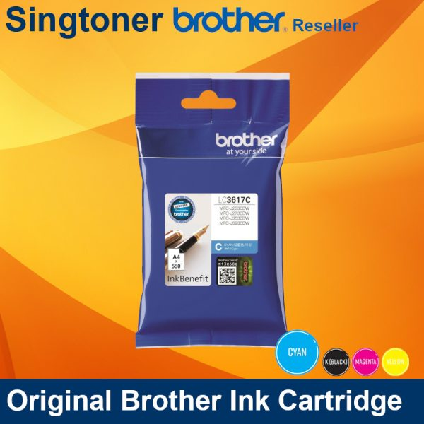 BROTHER LC3617 CYAN INK