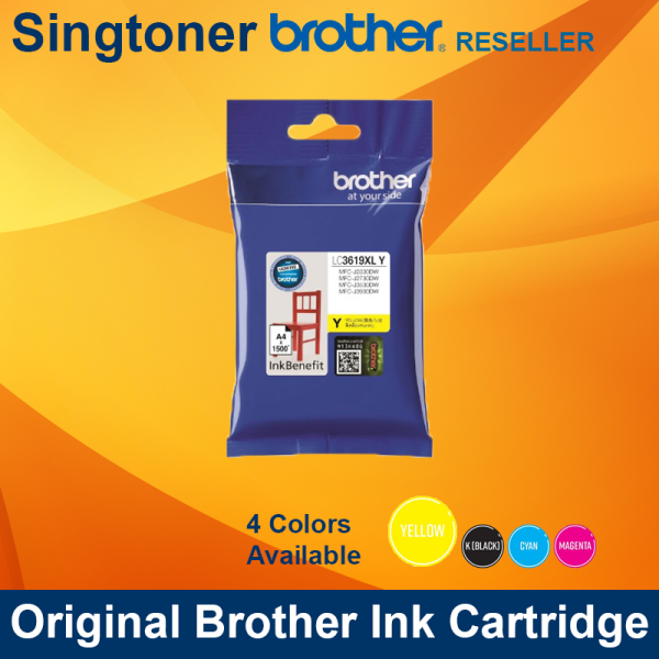 BROTHER LC3619XL YELLOW INK