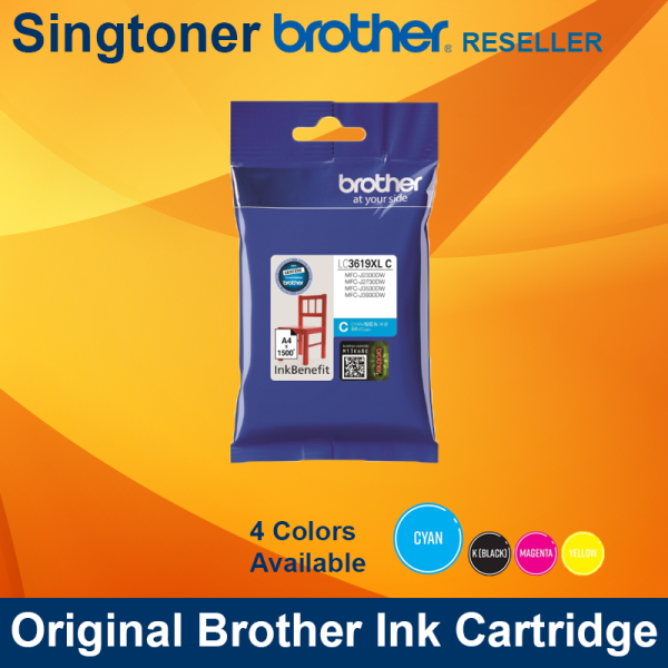 BROTHER LC3619XL CYAN INK