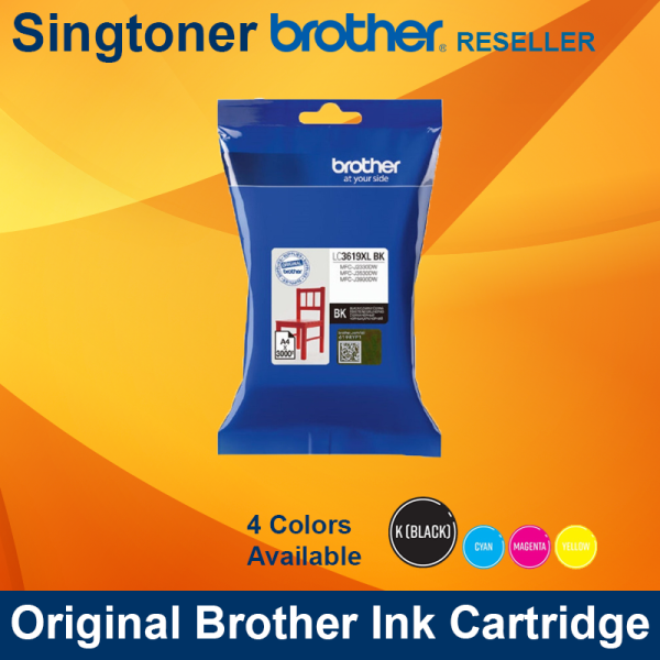 BROTHER LC3619XL BLACK INK
