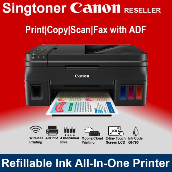 CANON PIXMA G4000 INKJET PRINTER