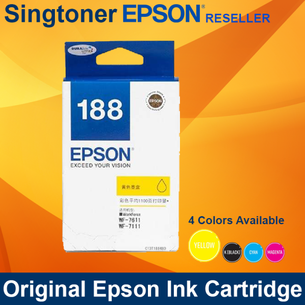 EPSON T188 YELLOW INK