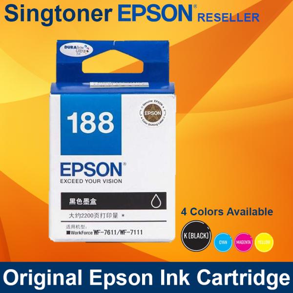 EPSON T188 BLACK INK