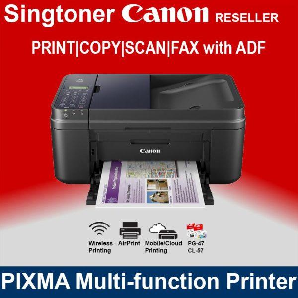 CANON PIXMA E480 INKJET PRINTER